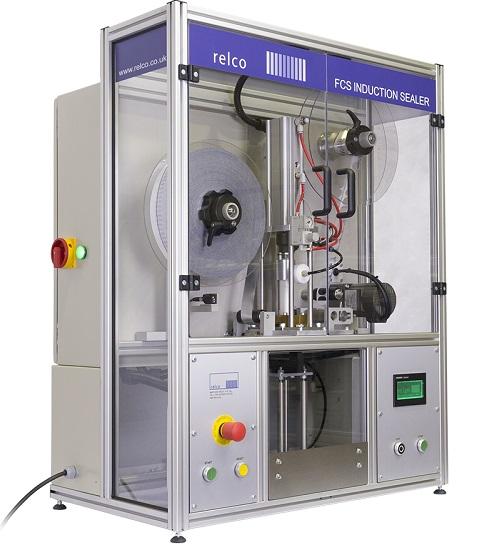 英国RELCO半自动无盖式铝箔切割封口机